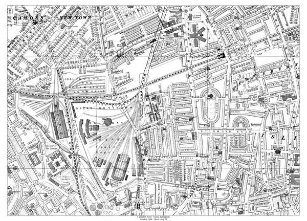 Islington Map