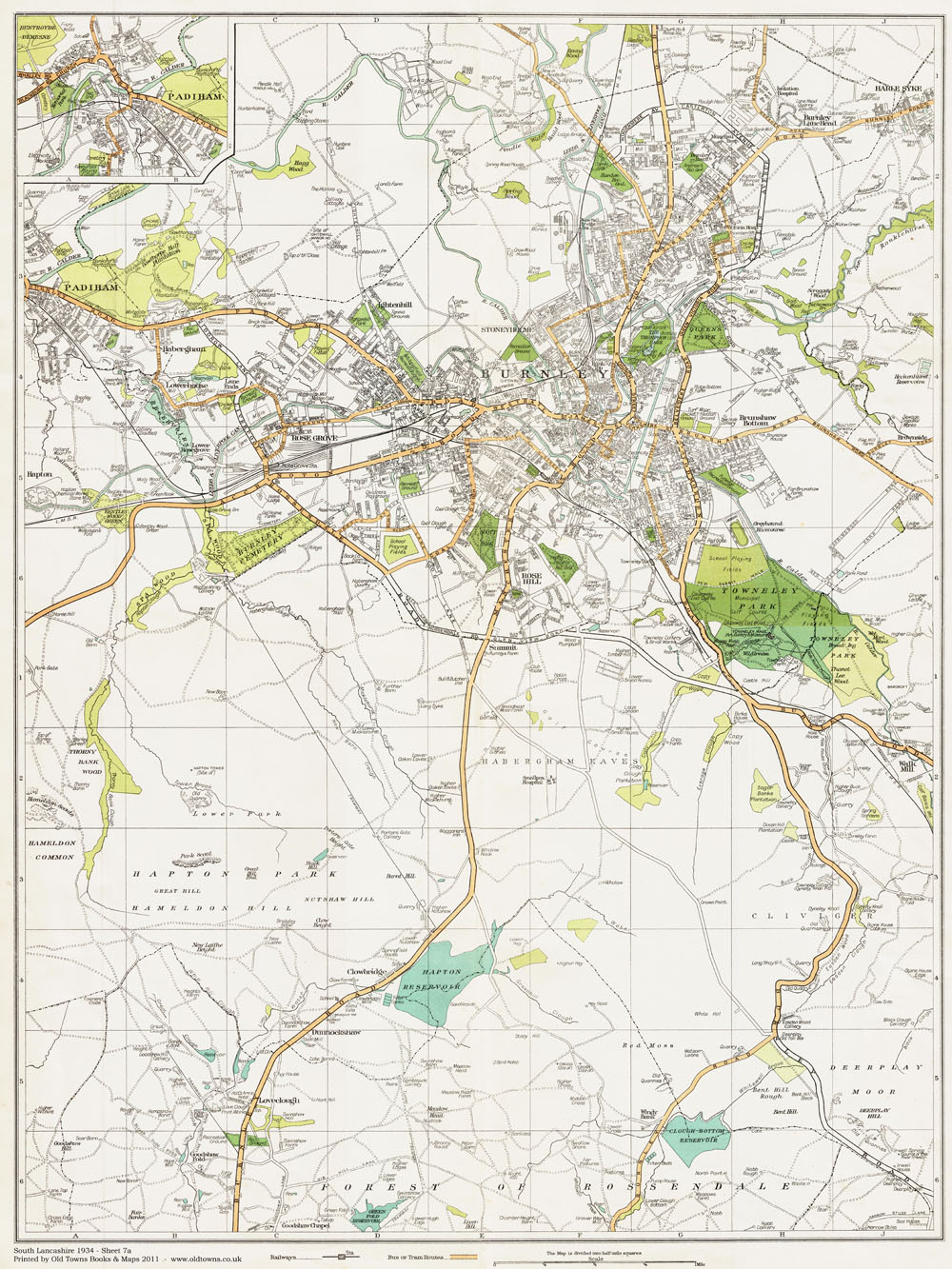 An old map of the Burnley and Padiham area, Lancashire in ... Map Of Burnley on map of swindon, map of darlington, map of york, map of heysham, map of haywards heath, map of middleton, map of march, map of london gatwick airport, map of tandragee, map of reading, map of forest of dean, map of lancashire, map of margate, map of england, map of coleraine, map of tarleton, map of newcastle central, map of eastleigh, map of nailsworth, map of chipping campden,