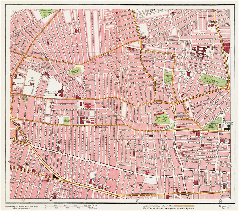 An old map of the netherfield road area liverpool in 1928 as an an old map of the netherfield road area liverpool in 1928 as an instant download and large format print sciox Gallery