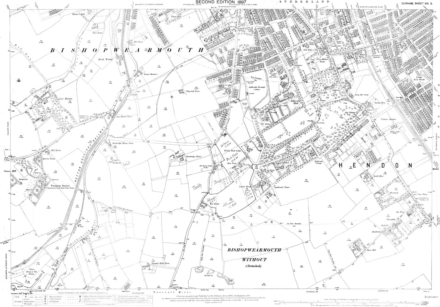 Old Maps Of County Durham