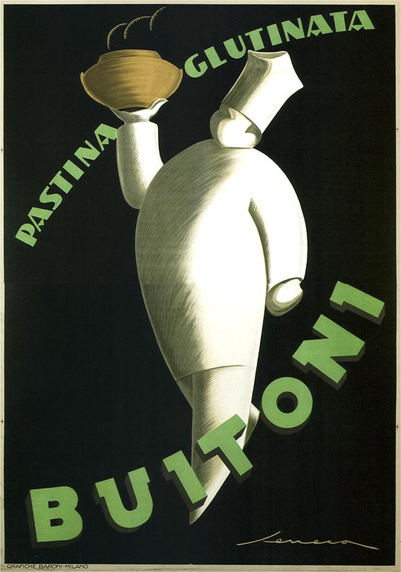 Buitoni Pastina 1928 - Italian food culinary vintage old ...