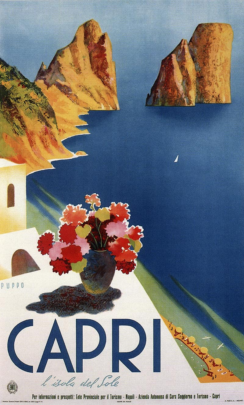 Italy Vintage Poster 101