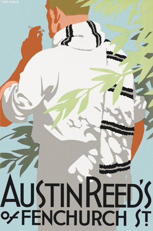 Old Towns Poster Austin Reed S Mens Clothes No10 1926